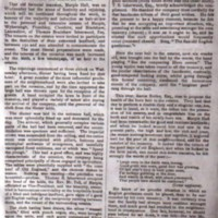 Extract : Festivities at Marple Hall : 1841 : Coming of Age : Thomas B. Isherwood