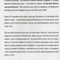 Post Civil War Declaration. Short biography Henry Bradshaw