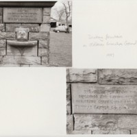 Hodgkinson Fountain in Recreation Ground