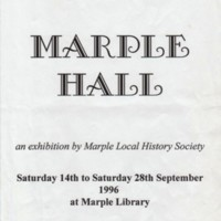 "The ""House we Lost"" Exhibition - cutting from Living Edge 2001 (Marple Hall)"