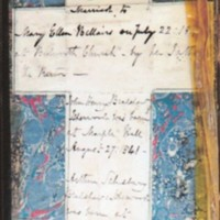 Pages from Book of Common Prayer : 1857