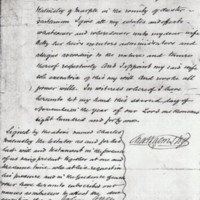 Last Will & Testament of Charles and John Braddock Walmsley : 1841 & 1856