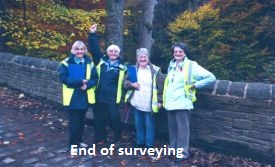 end of surveying