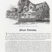 Earwaker : Marple Township : 1877