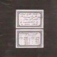 Marple Recreation Club Minute Book : 1898
