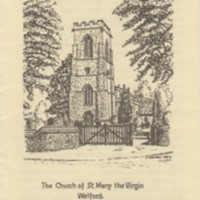 St Mary the Virgin, Parish Church of Welford