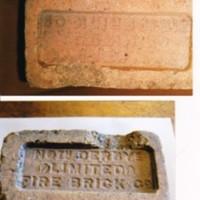Photograph of Brick : North Derbyshire Fire Brick Company