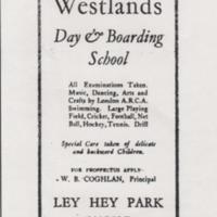 Westland Boarding School : Advertisement