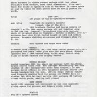 Details of Co-op Exhibition 1994