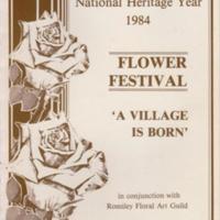 Programme : Flower Festival : 1984