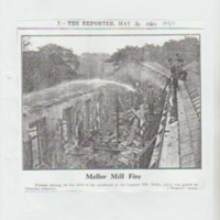 Newspaper Cuttings relating to Cataract Mill  from  1930