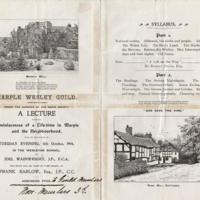 Marple Wesley Guild : 1904 Syllabus