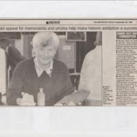 Ann Hearle Newspaper Cuttings