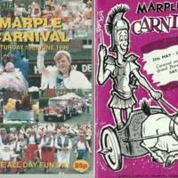 Marple Carnival Programmes :  1962 - 1996