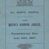 Queens Diamond Jubilee 1897