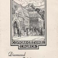 Front Cover Diamond Jubilee Souvenir Leaflet 1947