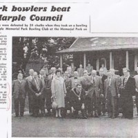 Charity Bowls Match for Orthopaedic Hospital : Undated