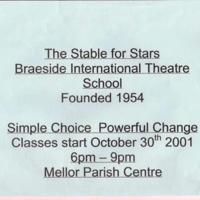 Braeside International Theatre School