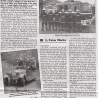 Newspaper cuttings from 1965 relating to Fire Service