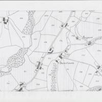 Maps & Data from 1836 : Valuation of Mellor : Damsteads