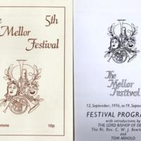 Material relating to Art Exhibitions held at Mellor Church : Various Dates