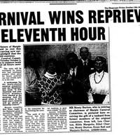 Marple Carnival Newspaper Articles : Various Dates