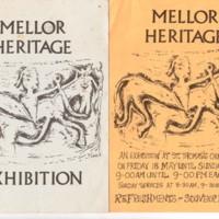 Mellor Heritage Exhibition at Mellor Church : 1984