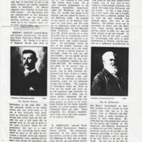Mosley family research correspondence : Article on R Mosley<br /><br />