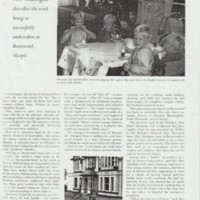 Newspaper and Magazine articles for Brentwood House