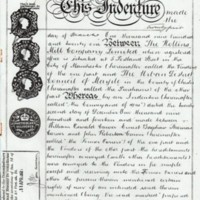 Indenture : Hollins Mill Co Ltd &  M.U.D.C : 1921