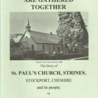 Booklet : The Story of St Paul's Church Strines : 2001