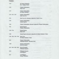 Parliamentary Constituencies & M.P.'s 1714 - 1910