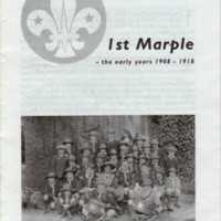 """Booklet : """"lst Marple : The Early Years 1908 -1918"""""""