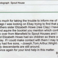 Spout House & Howe Family