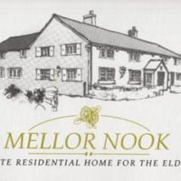 Mellor Nook Nursing Home Brochure & Photographs