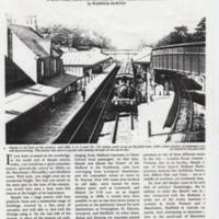 """Marple A One Time Traffic Centre"" article by W Burton : 1994"