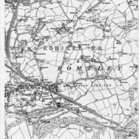 1899 Map of Romiley/Compstall Area