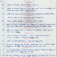 Handwritten transcript of John Tym's Diary : 1881