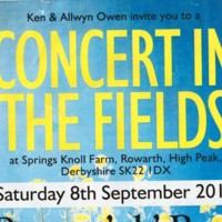 Concert in the Fields  : Mellor Festival Weekend