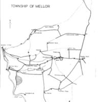 Map of the Township of Mellor