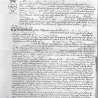 """Deeds relating to """"Bradshaw Top"""" Letter of Administration 1827 : Isaac Hegenbottom"""