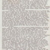 Tom Oldham's Research Material : Correspondence & Notes : 1974