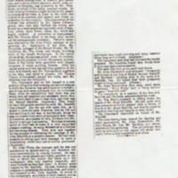 Holly Vale Mill Wedding Festivities Newspaper Report : 1877