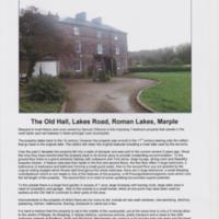 Estate Agents Sales Brochure for The Old Hall : 2004 : £725,000