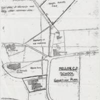 Mellor C. P.  School : Location Plan