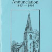 Booklet : Church of Annunciation : New Mills