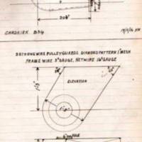 Ledger of Technical Drawings : Calico Printing Association 1935/6