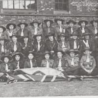 Photographs of Guides and Scouts : Various dates