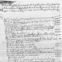 Francis Lowe Inventory 1672/3
