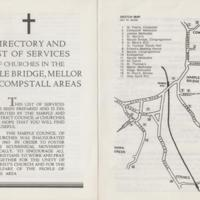 Pamphlets : Directory and List of Services : 1963